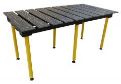 BuildPro® Slotted Welding Table - 1960 x 1000 x 957