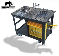 Rhino Cart and 66pc. Fixture Kit