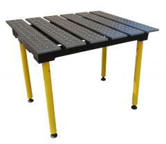 BuildPro® Slotted Welding Table - 1160 x 1000 x 957