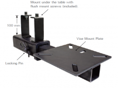 Hitch Mount Vice Plate for Rhino Cart