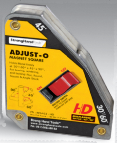MSA53-HD Adjust-O Magnet Square