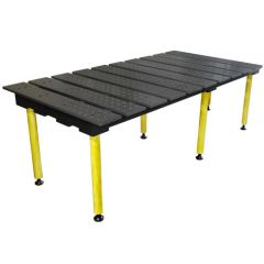 BuildPro® Slotted Welding Table - 1960 x 1000 x 807