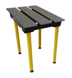 BuildPro® Slotted Welding Table - 560 x 1000 x 957