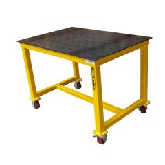Weld Safe® EC Welding Table on Castors - 1200 x 800 x 850