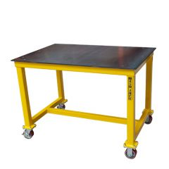 Weld Safe® ST Welding Table on Castors - 1200 x 800 x 850