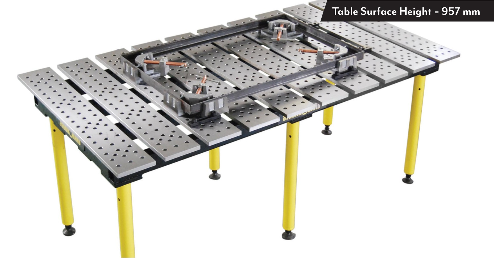 BuildPro Slotted Welding Table
